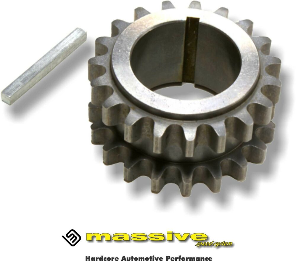 keyed crank timing chain gear pulley sprocket mzr 2 0 2 3 timing chain for mazda 6 #2