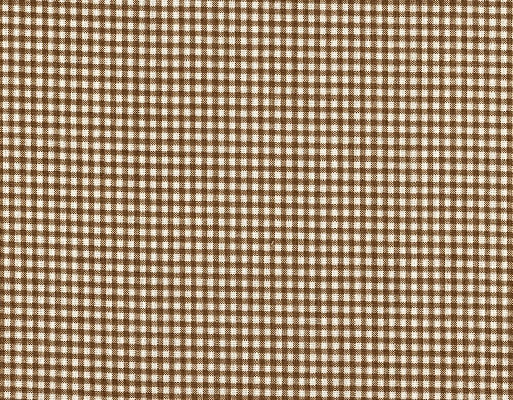 72 Quot French Country Gingham Check Suede Brown Fabric Shower