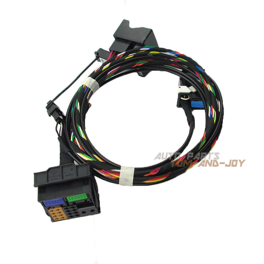 Yixinyou Bluetooth Module Wireless Microphone Wire Harness: Bluetooth Wiring Cable + Microphone For VW RCD510