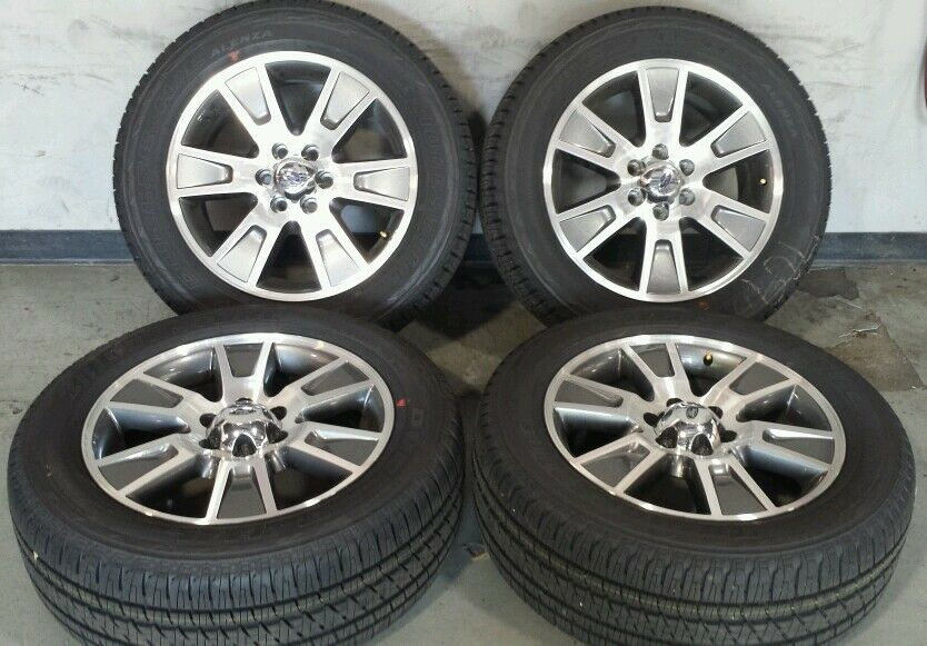"2004 2014 Ford F150 F 150 FX4 Tires 20"" Factory Wheels Rims Expedition"