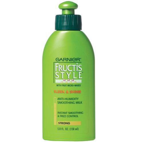 garnier fructis style sleek and shine anti humidity hair spray garnier fructis style sleek and shine smoothing milk 5 1 8301