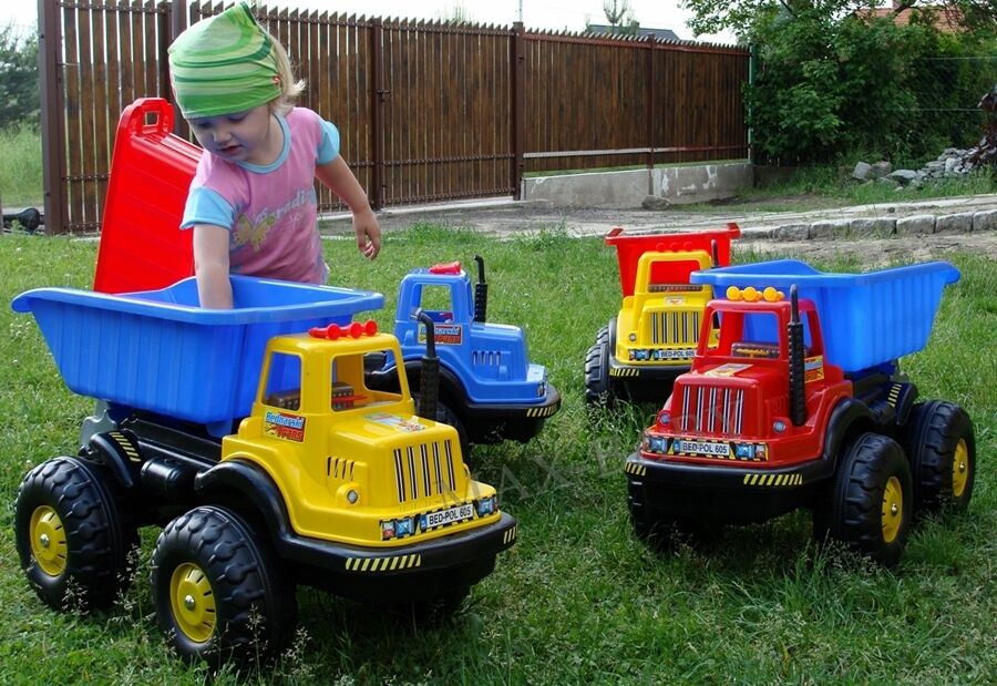 Large Outdoor Toys : Mega huge dumper truck tipper large big outdoor toy