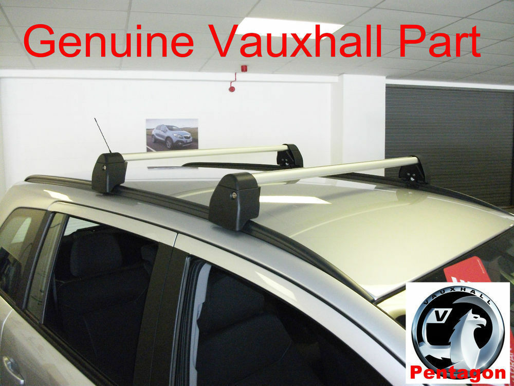 New Genuine Vauxhall Zafira B Roof Rack Bars Carrier With