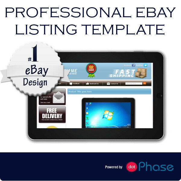 Ebay listing template design compatible with inkfrog for Ebay template design software