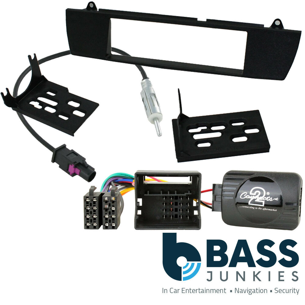 Bmw Z4 E85 E86 2002 2008 Car Stereo Radio Steering Wheel Interface Kit Ct24bm06 Ebay