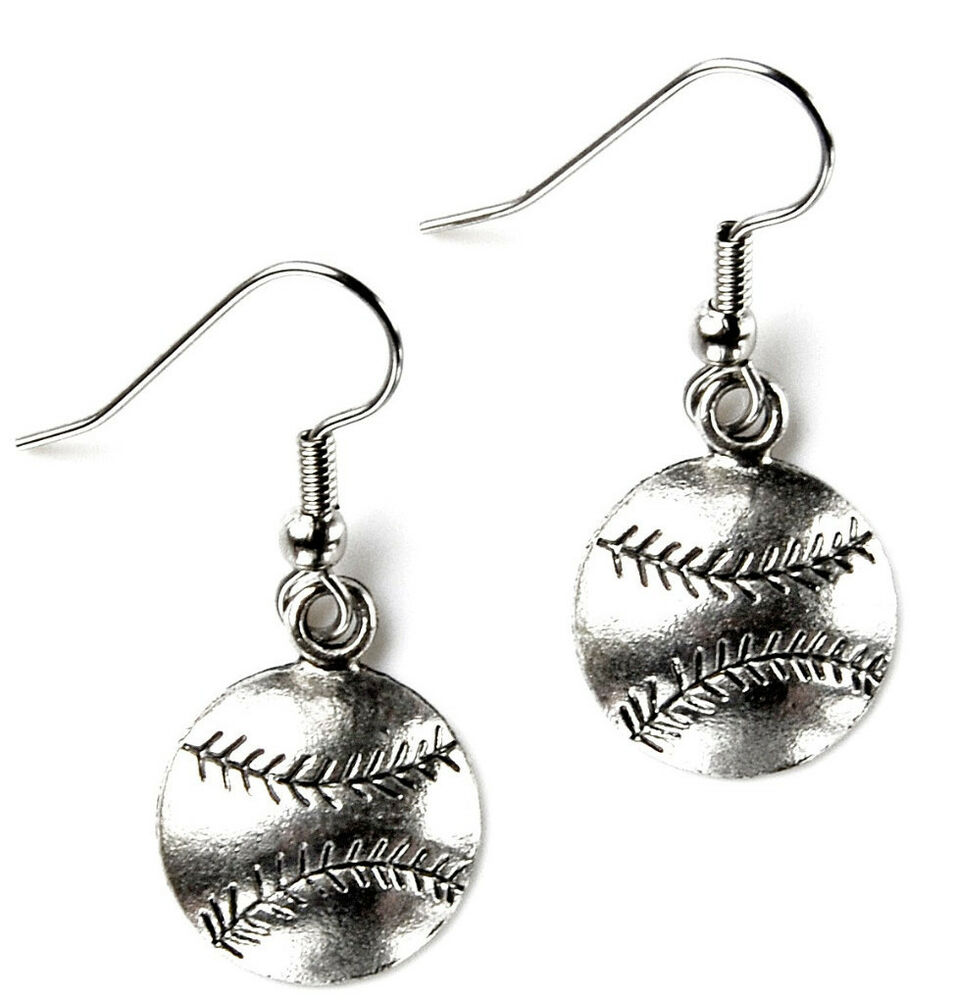 baseball earrings sports accessories women 39 s jewelry