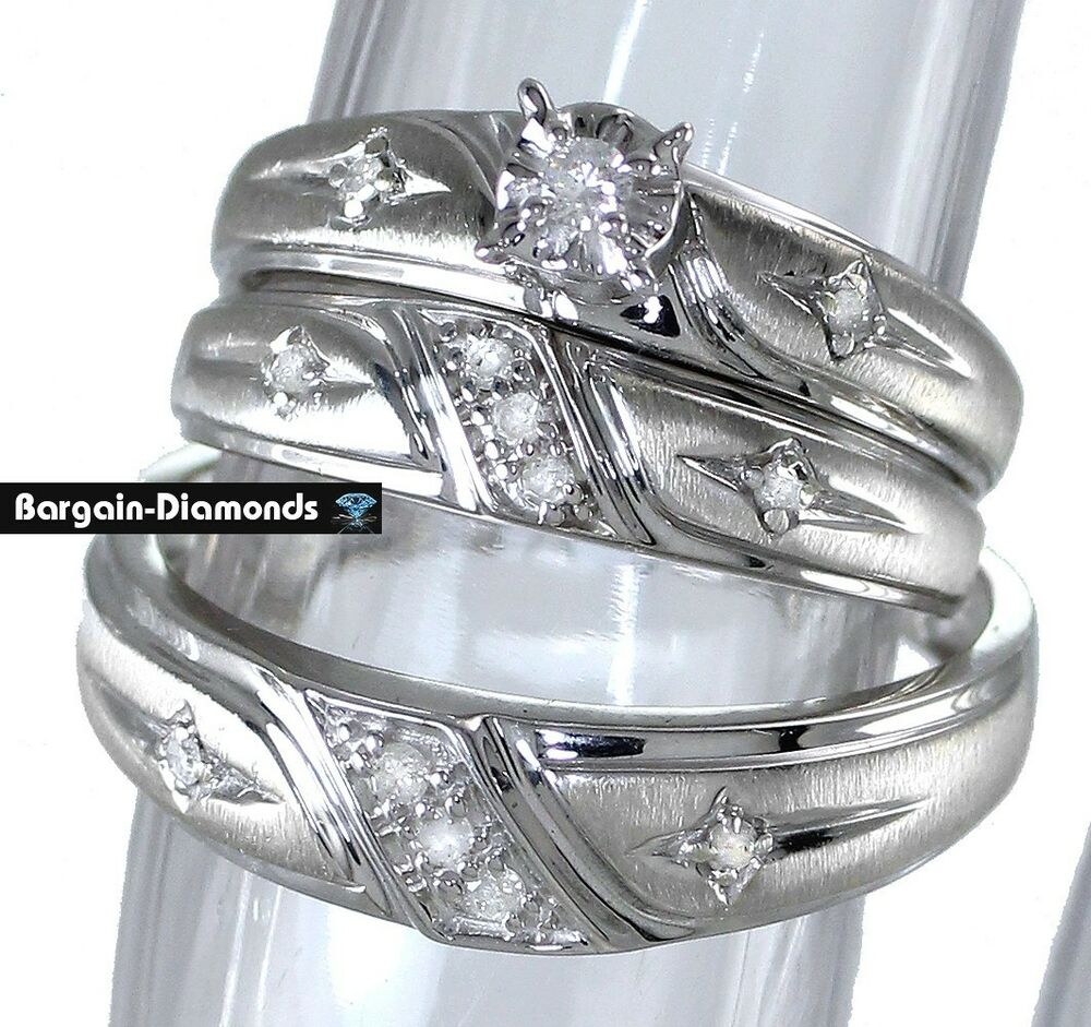 christian wedding rings sets 3 ring 20 carat wedding band set cross christian 2924