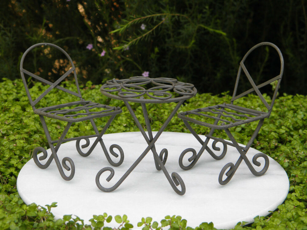 how to build fairy garden furniture