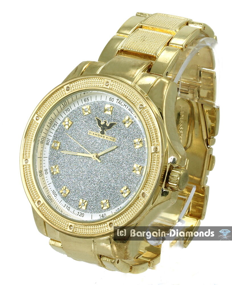 big gold tone business clubbing metal