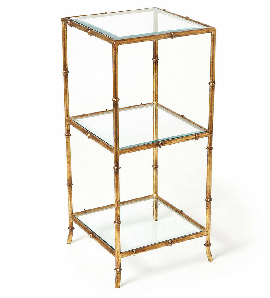 Quot Shanghai Garden Quot Stylized Bamboo Three Tier Table