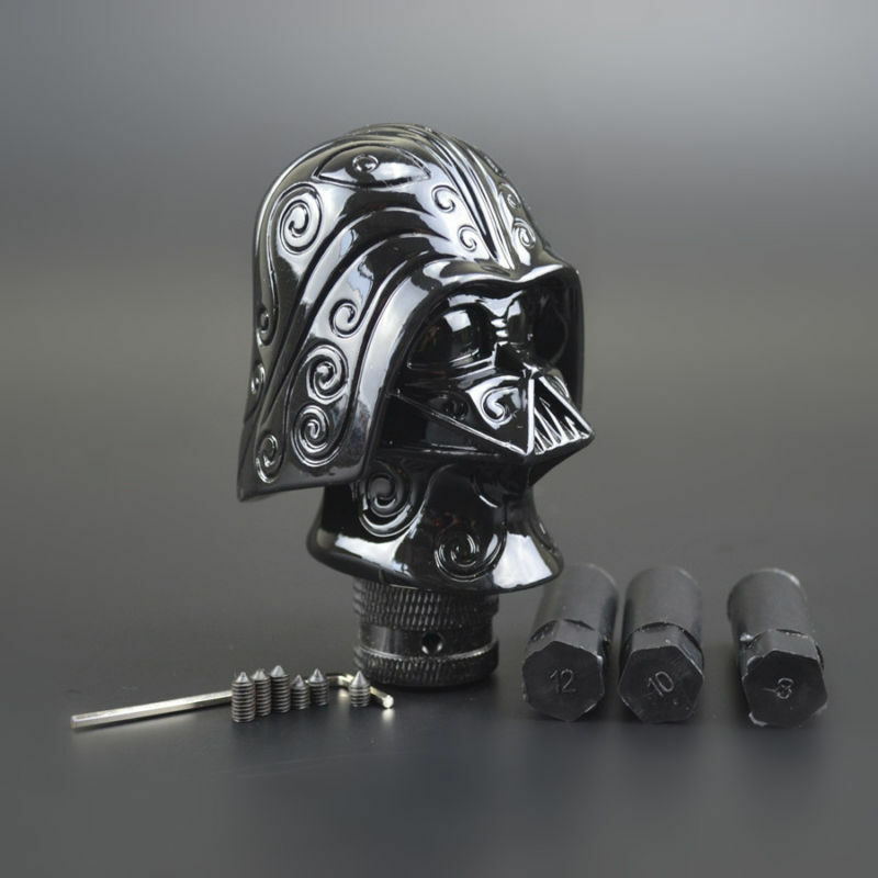 Dog Gear Shift Knobs : Black universal truck car gear knob shift lever stick