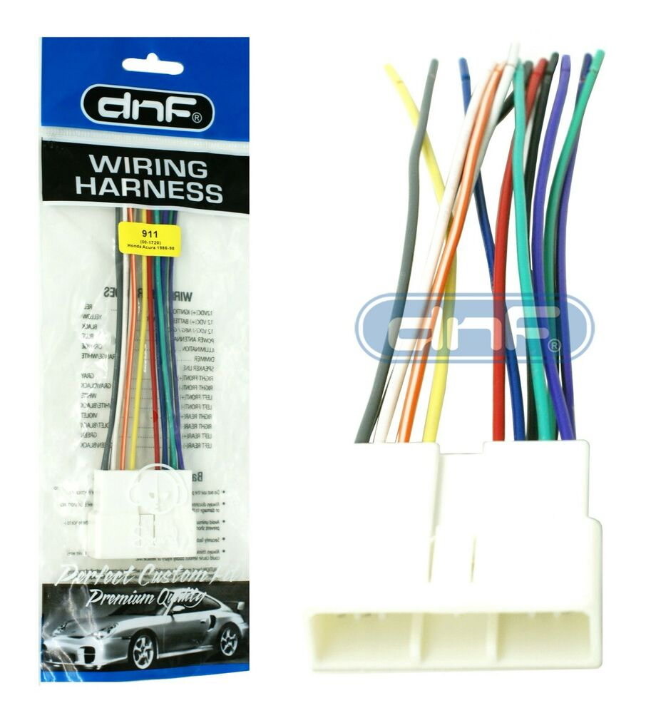 s l1000 wire harness stereo radio headunit 911 (70 1720) 100% copper Ford Wiring Harness Diagrams at couponss.co