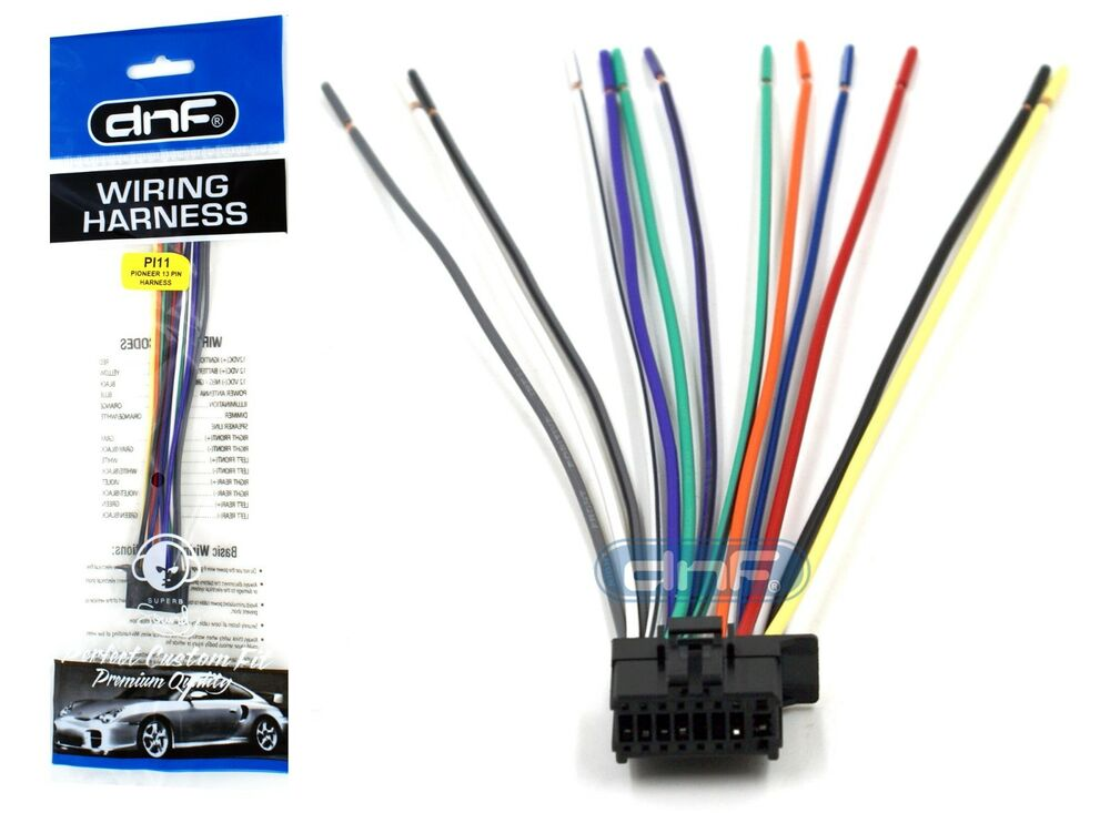 s l1000 pioneer deh 1300mp deh1300mp wiring harness free same day pioneer deh p8400bh wiring diagram at gsmx.co