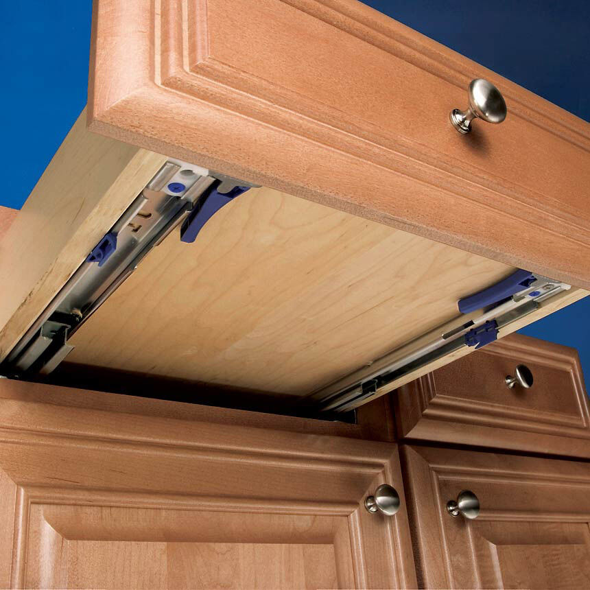 kitchen cabinet undermount drawer slides 22 quot undermount eclipse 3132ec slide ebay 7969