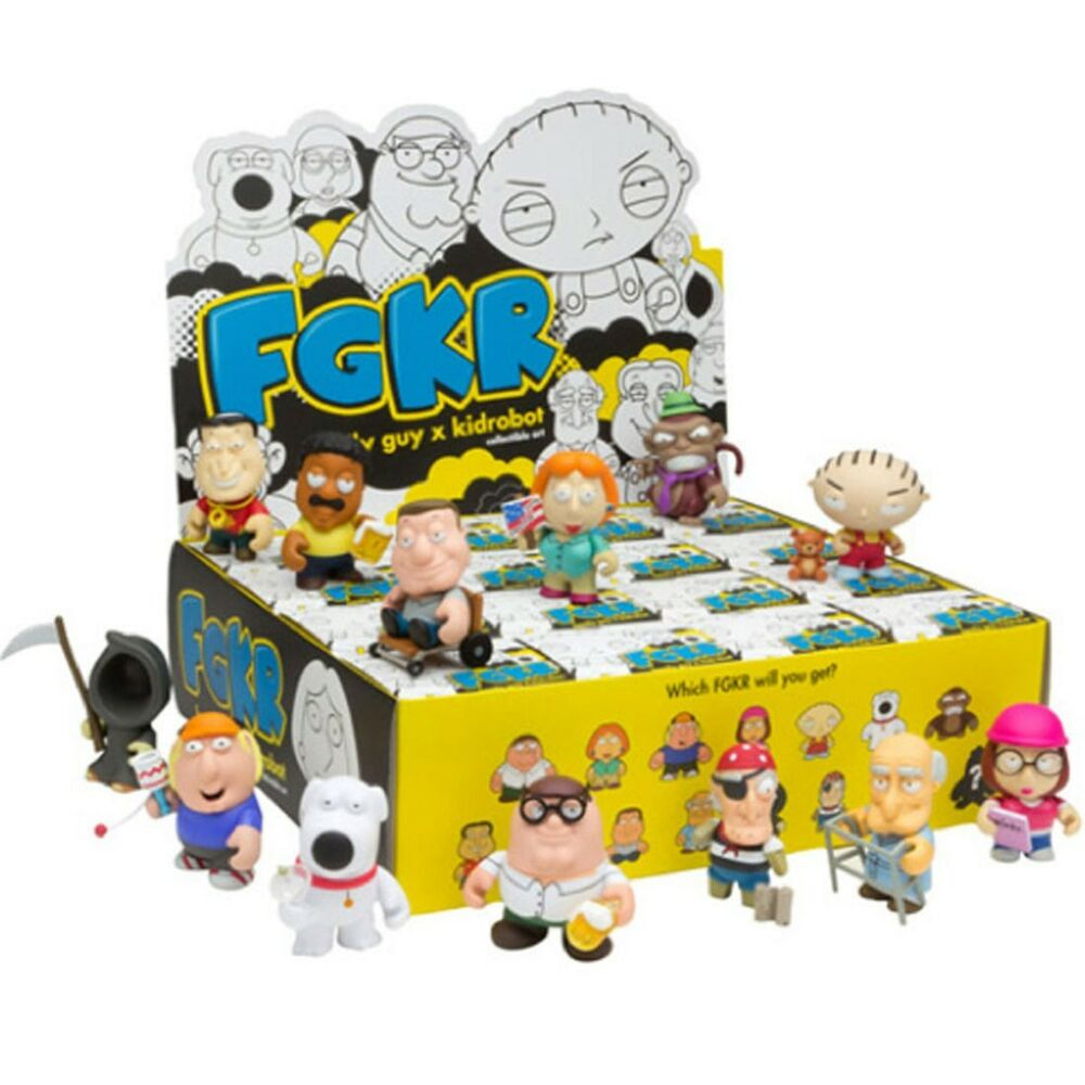 Family Guy Peters Toy Design : Kidrobot family guy play the odds blind box vinyl figure