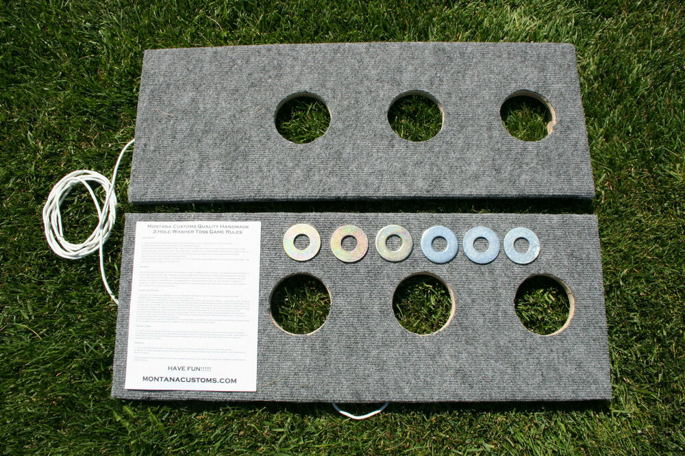 3 hole washer game plans