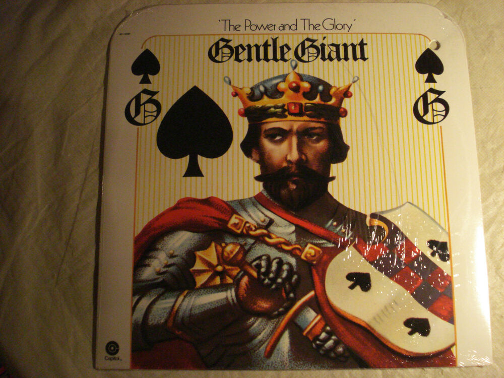Gentle Giant Quot The Power And The Glory Quot Prog Rock No