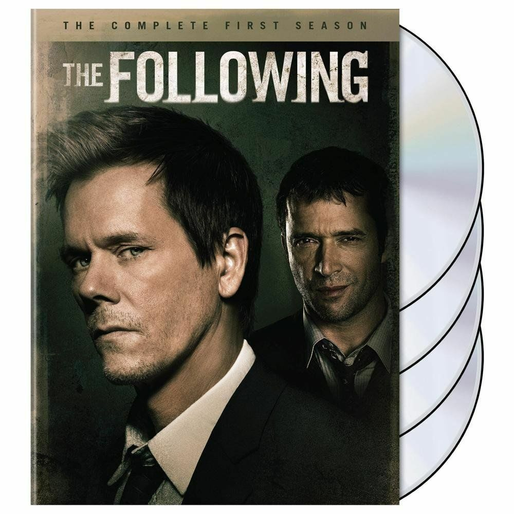 The following the complete first season dvd 2014 4 disc set