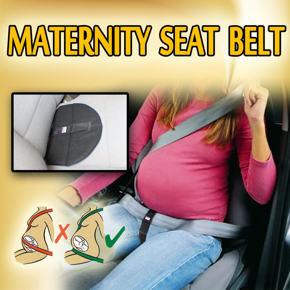 PREGNANCY MATERNITY SEAT BELT DRIVING SAFETY BABY SUPPORT ...