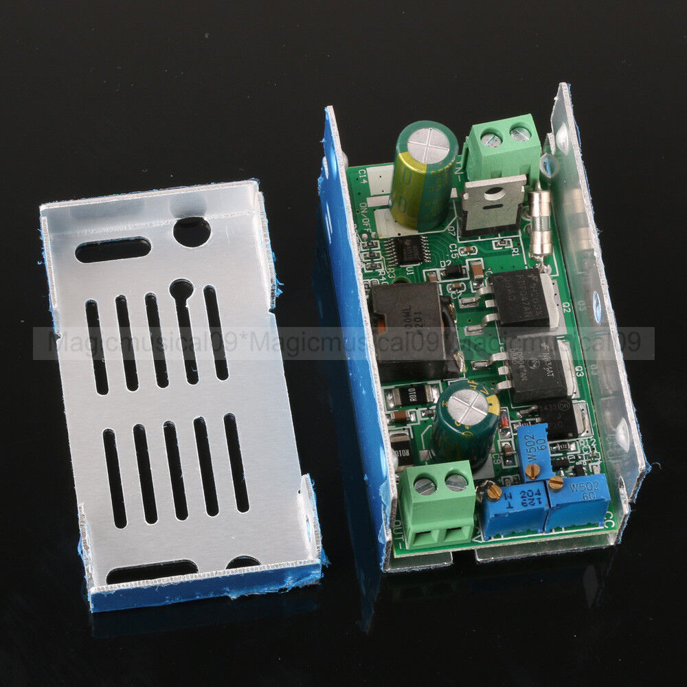 Dc 10 50v To 1 36v 10a Constant Current Buck Voltage