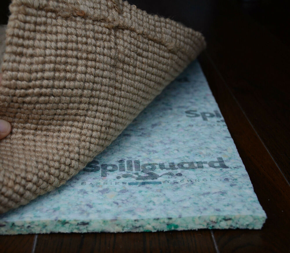Spillguard Resistant Rug Pad 1 2 Quot Thick Rebond Multiple