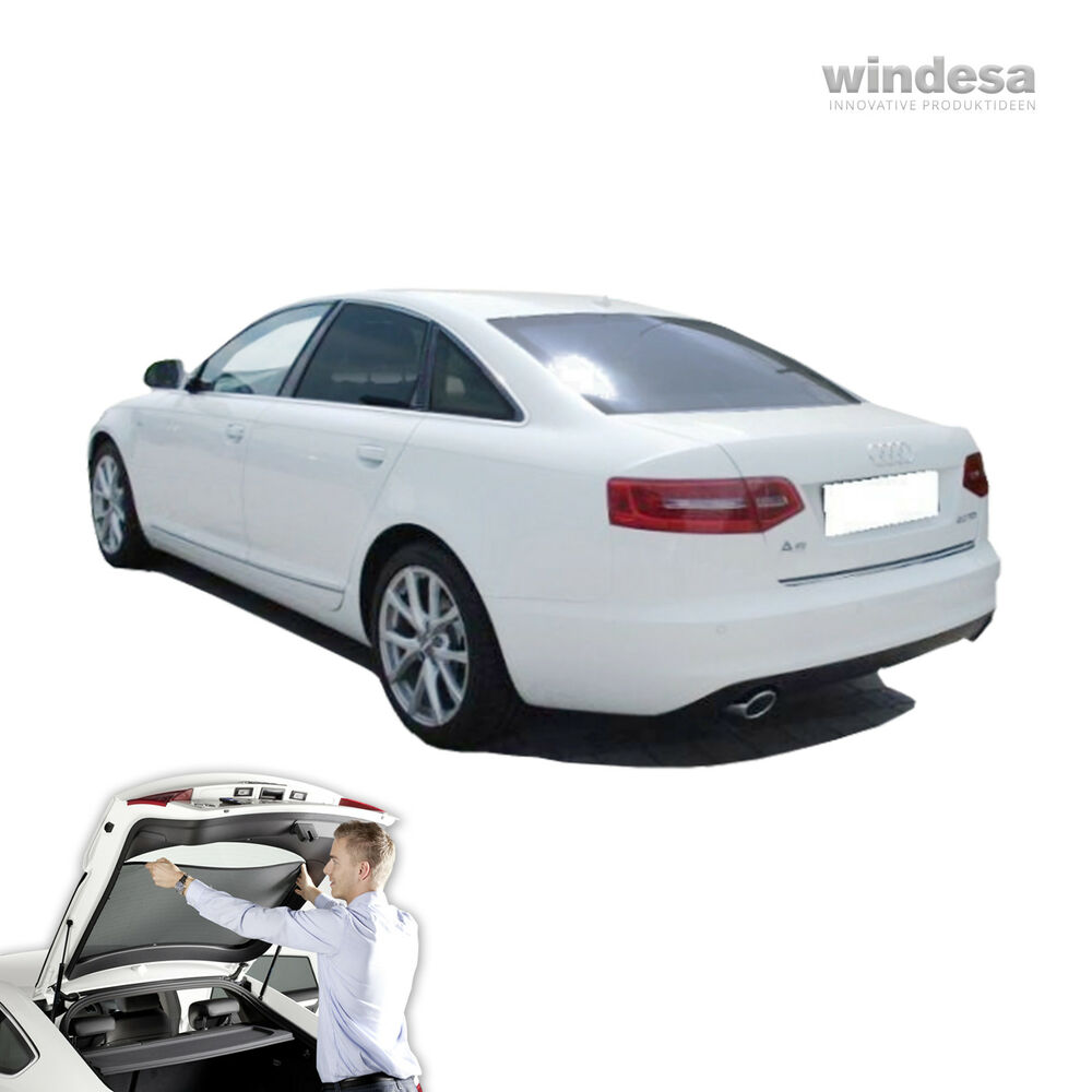 sonniboy auto sonnenschutz audi a6 limousine c6 4f ebay. Black Bedroom Furniture Sets. Home Design Ideas