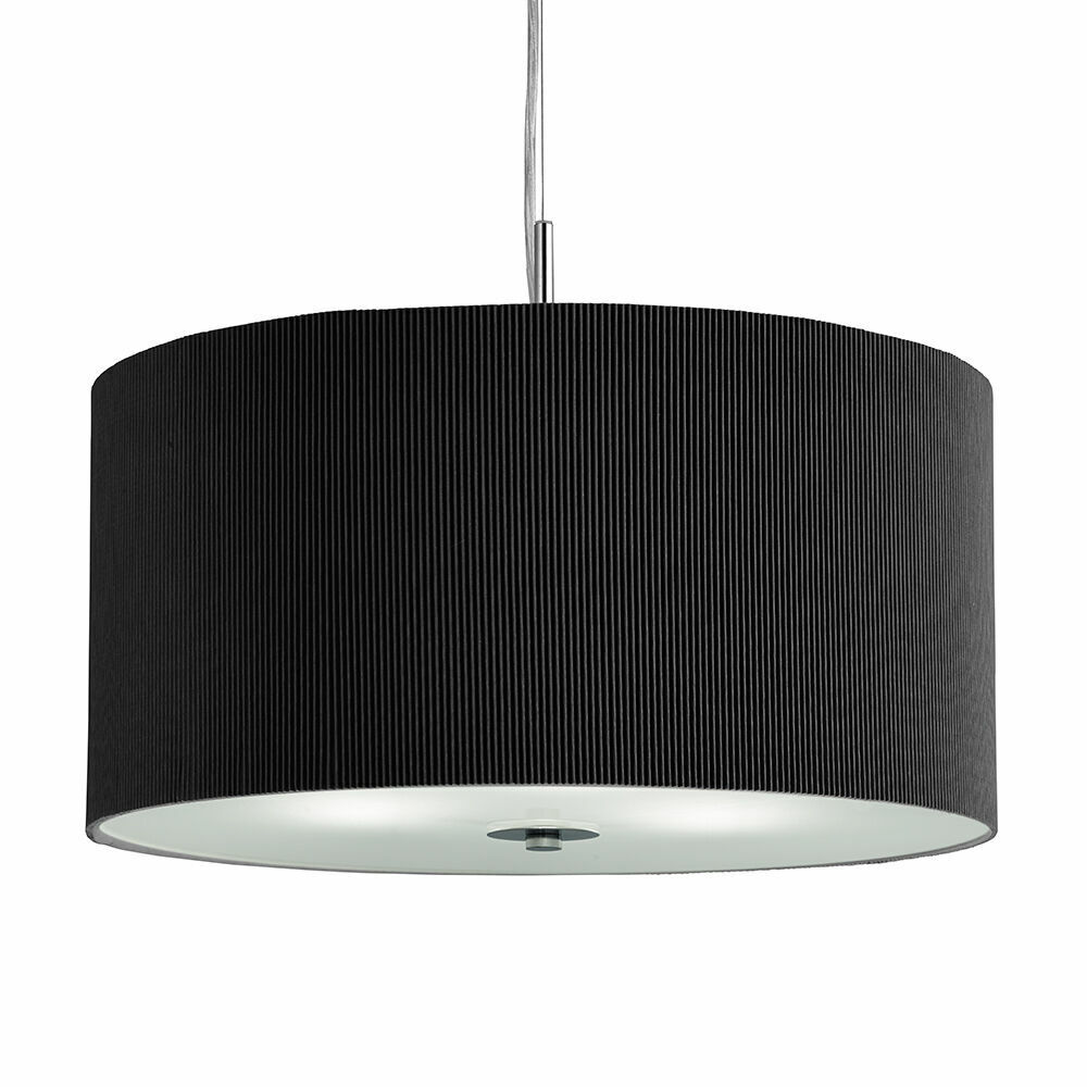 Searchlight Fitzroy 3 Light Drum Pendant With Frosted