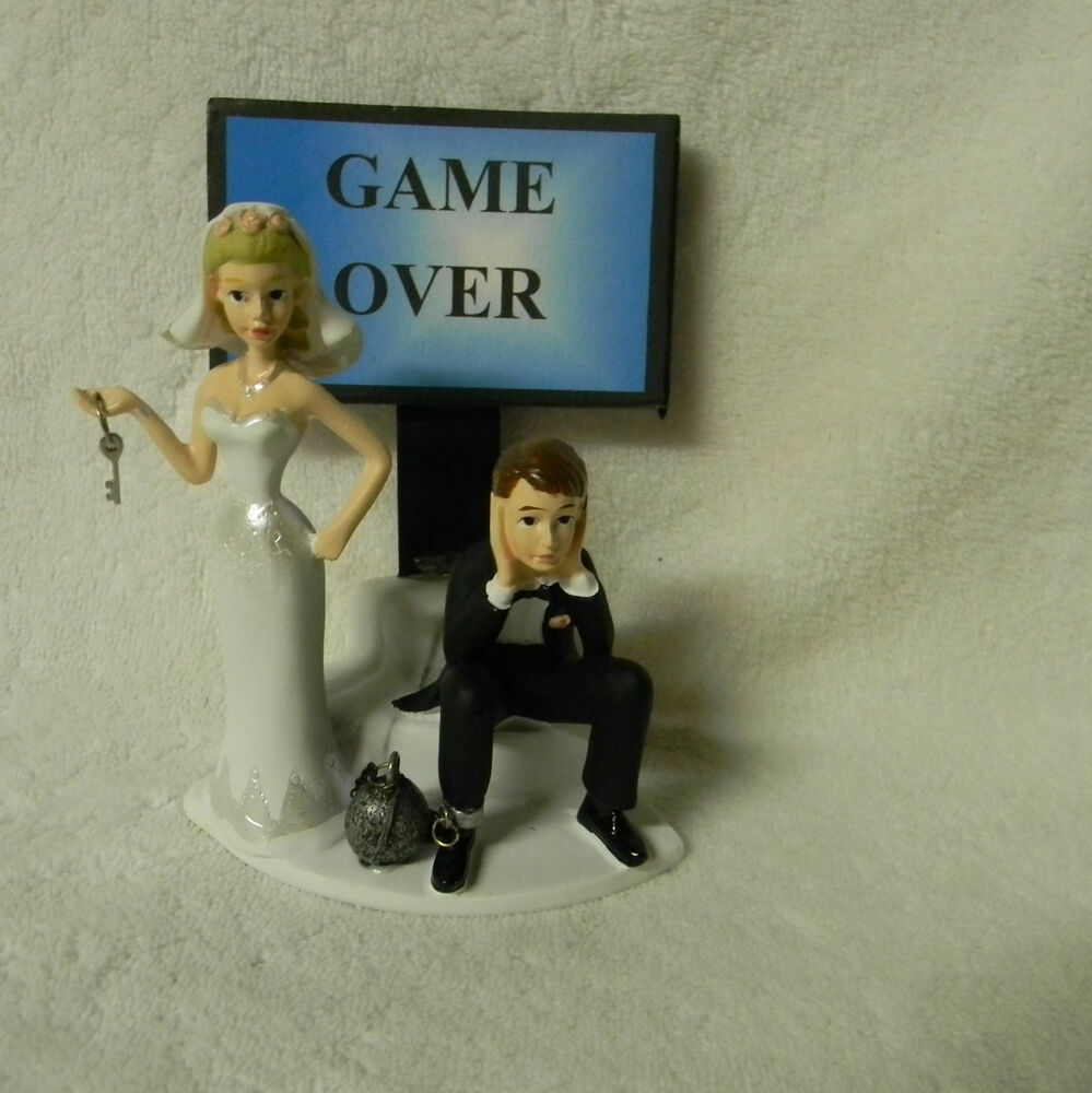 Video Game Wedding Cake Topper