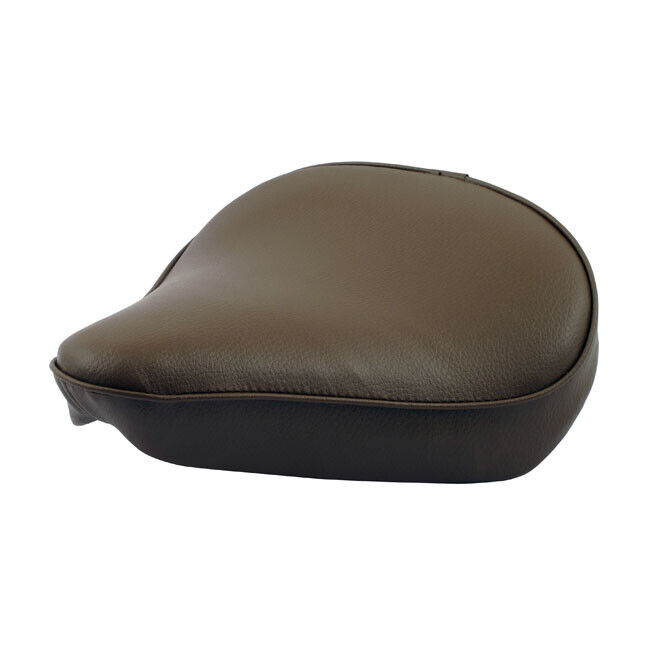 selle solo moto brune fine bobber harley seat chopper brown sella custom fine l ebay. Black Bedroom Furniture Sets. Home Design Ideas