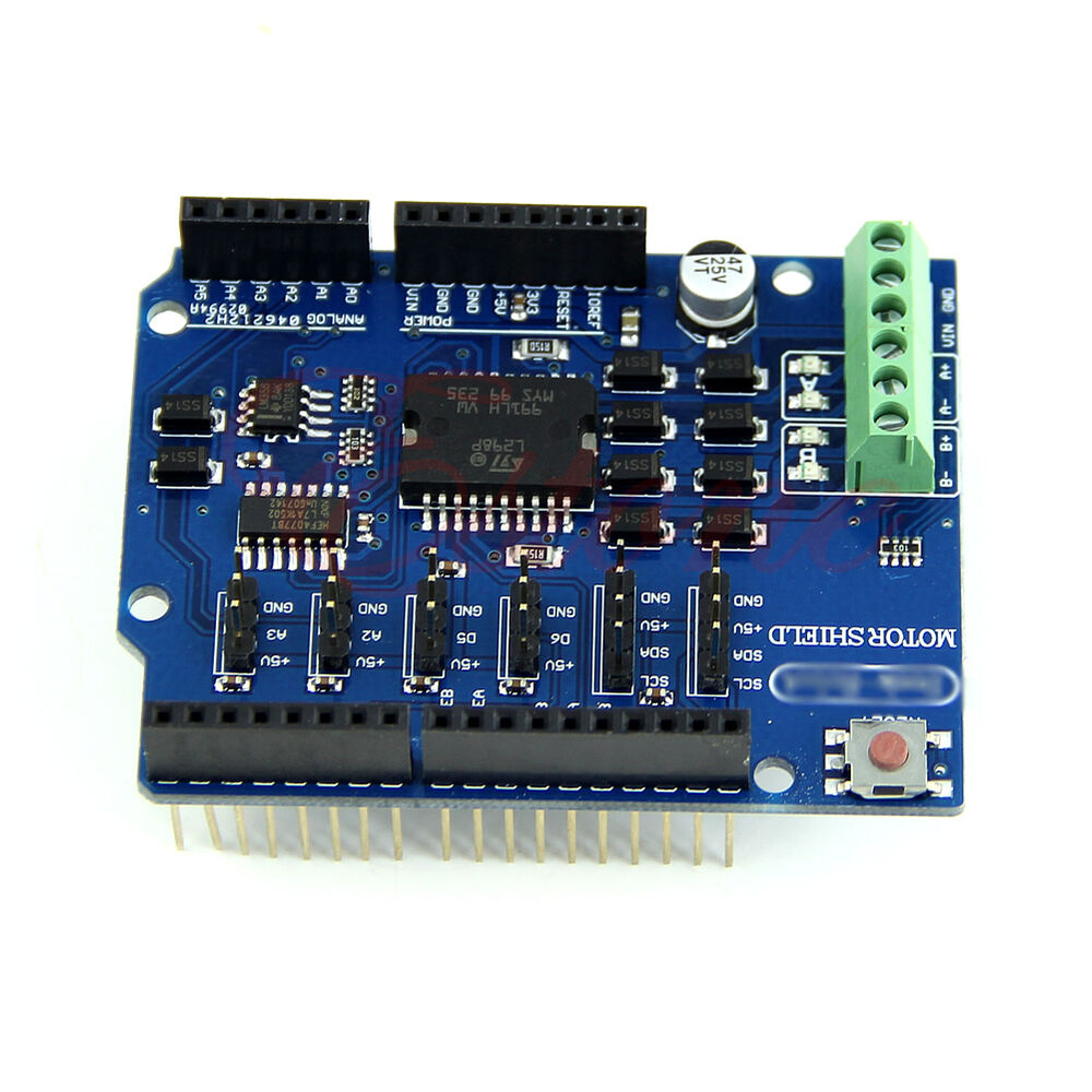 Motor driver module l p shield a h bridge way fr