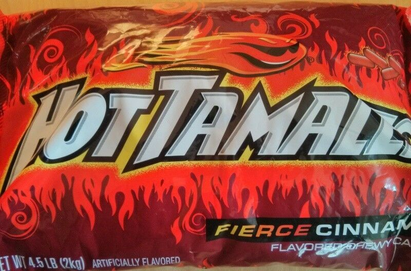 hot tamales fierce cinnamon chewy candy by pound get fired