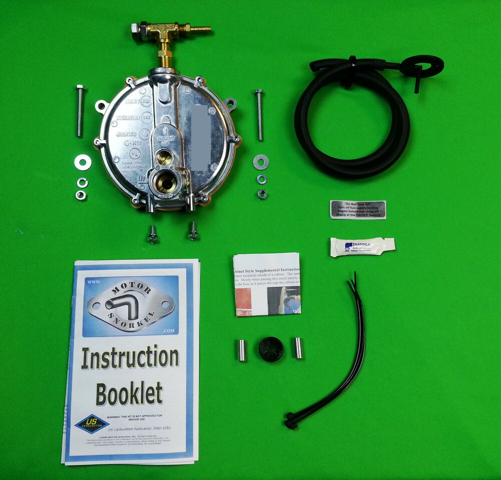 Conversion Kit From Natural Gas To Lp