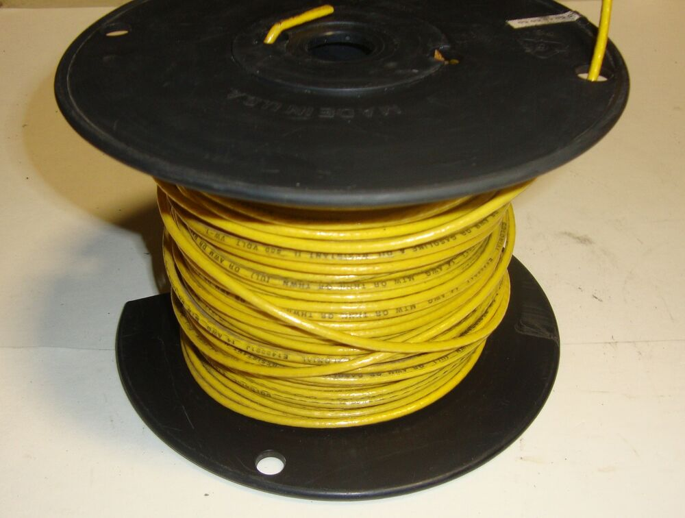 Types Of Copper Wire : Colonial wire cable co awg standard copper thhn