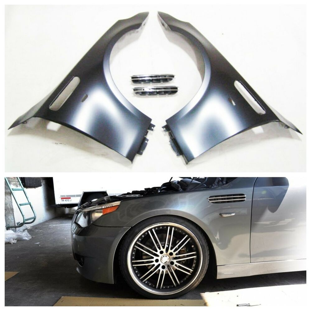 2004-2009 BMW E60 M5 STYLE FRONT LEFT AND RIGHT FENDERS