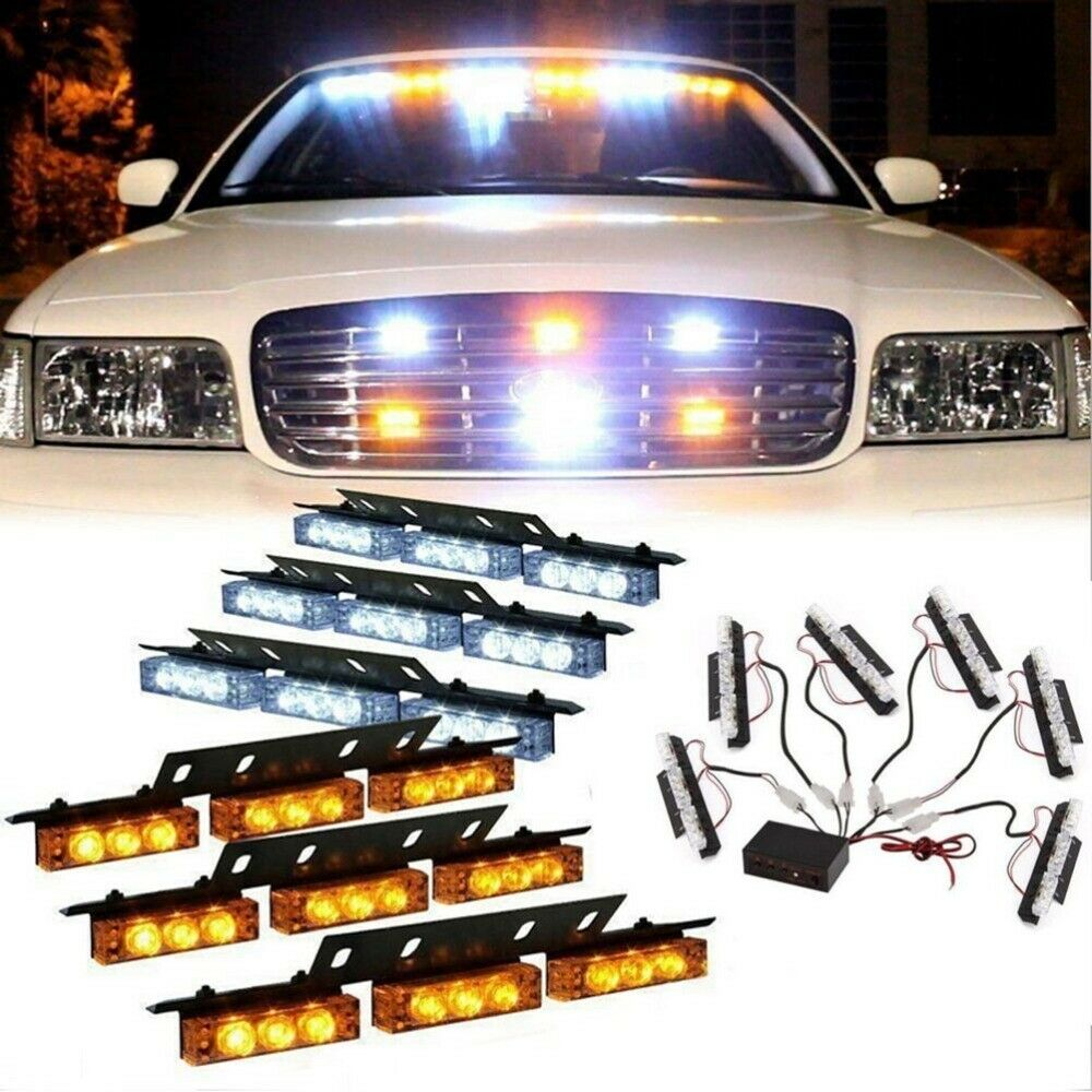 M715 Conversion Kit also 6311271 besides 32531325438 together with Toyota Pickup 1982 1995 White LED Sealed Beam Headlight Conversion besides 97 03 Ford F150 To Raptor Conversion Kit. on truck grill led lights