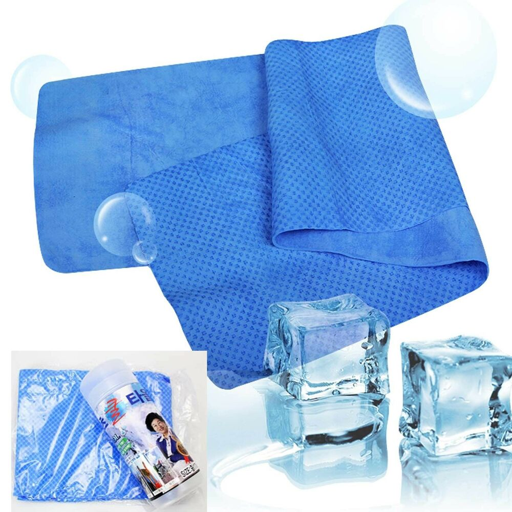 Sports Ice Towel: Cooling Towel Sports Outdoor Activities Ice Cold Cool