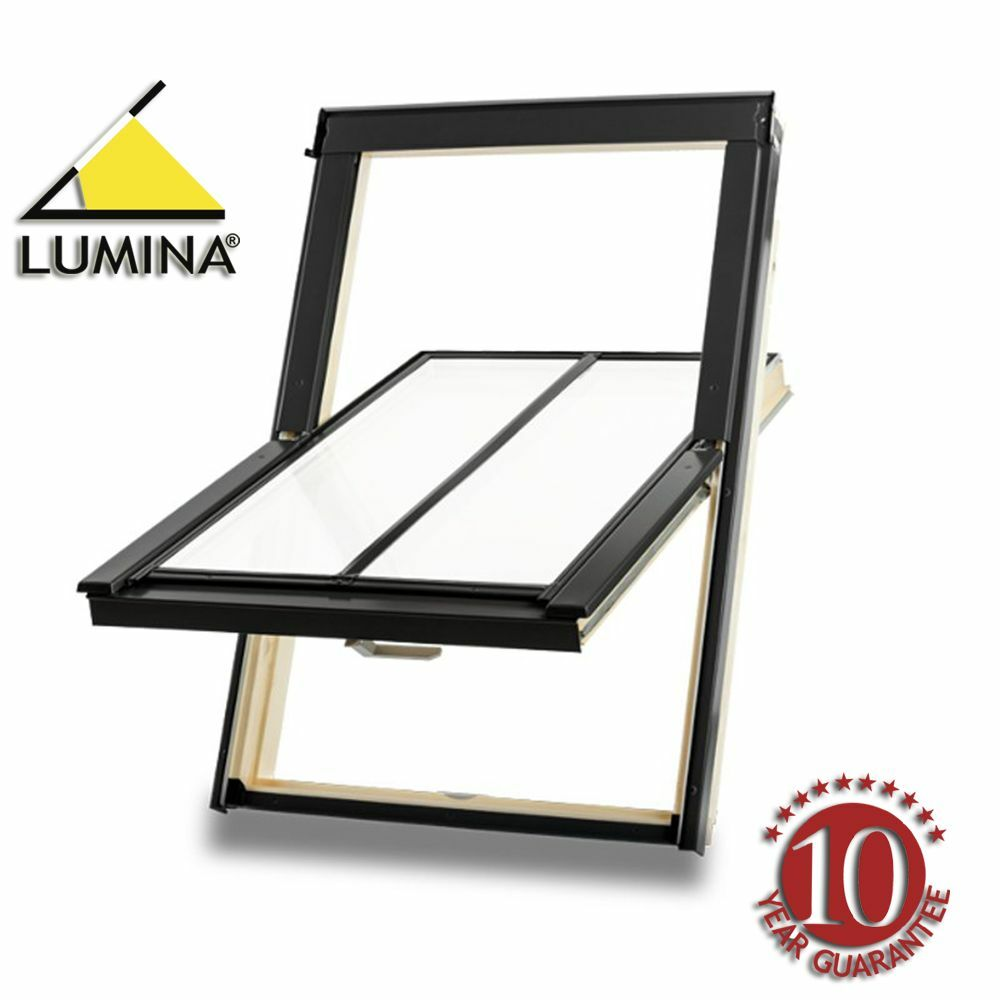 velux style lumina heritage conservation roof window inc flashing kit ebay. Black Bedroom Furniture Sets. Home Design Ideas