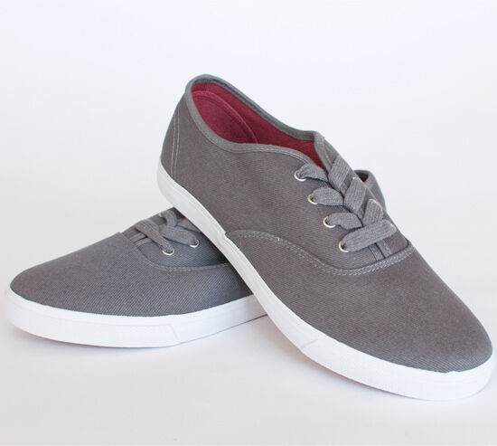 mens american rag jonas canvas shoes sneakers gray grey