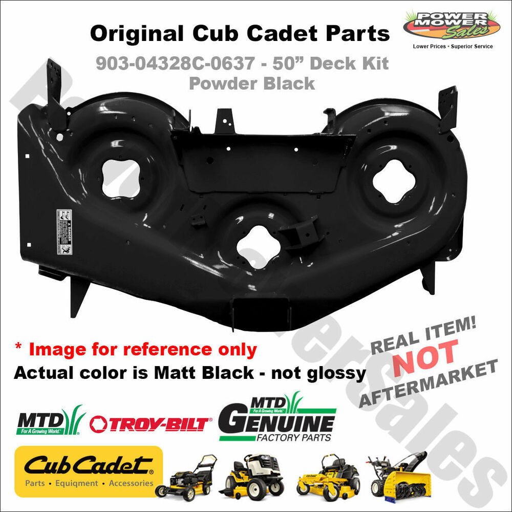 Cub Cadet Mower Replacement Parts : Mtd deck shell replacement cub cadet rzt