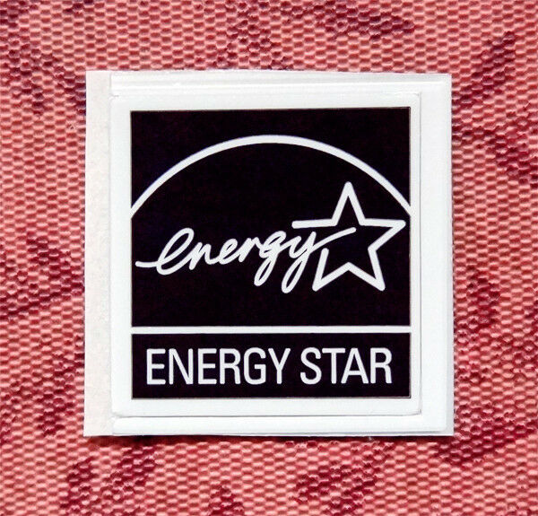 Energy star sticker 19 x badge logo label usa 5 star energy