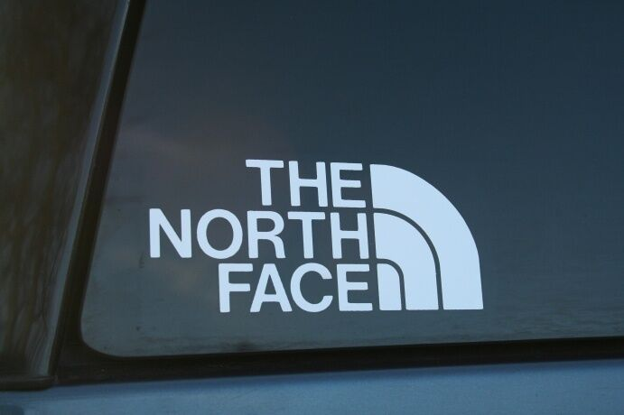 The North Face Die Cut Car Window Sticker Buy 2 Get 1