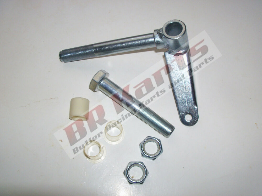 Go Kart Spindle Shaft : Go kart spindle quot shaft king pin kit jig welded