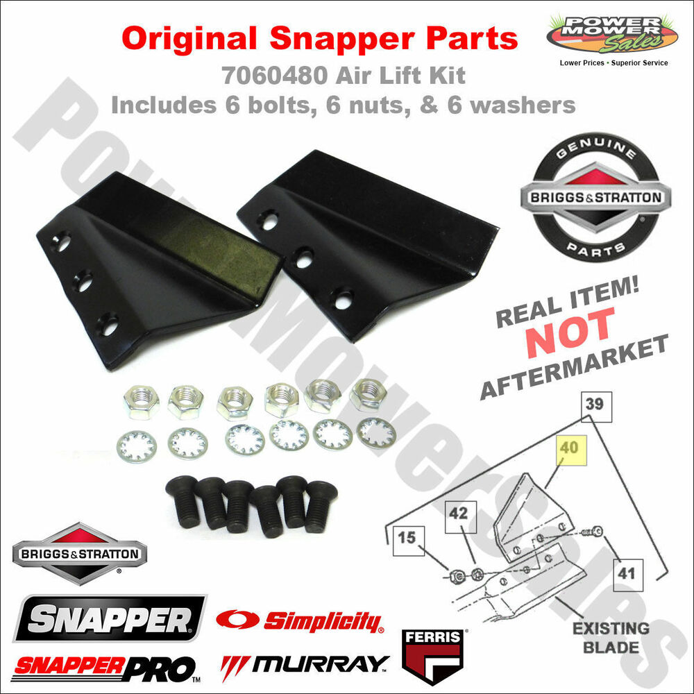 33quot Mower Deck Diagram And Parts List For Snapper Ridingmowertractor