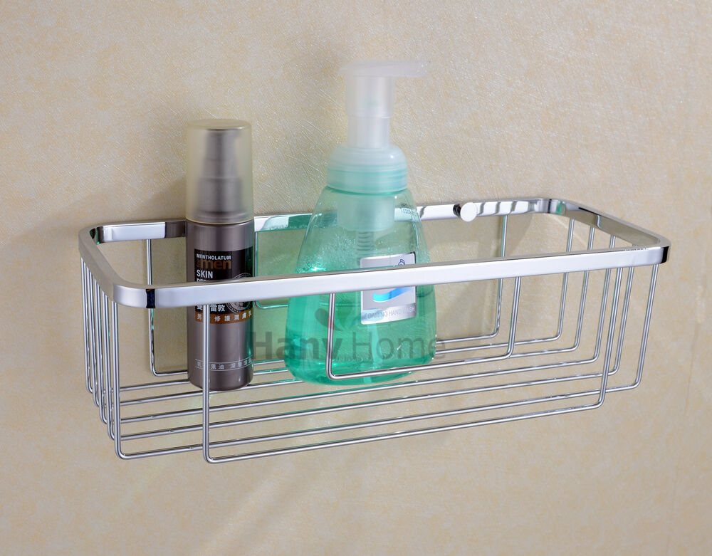 New bathroom accessories stainless steel shower single - Bathroom shelves stainless steel ...