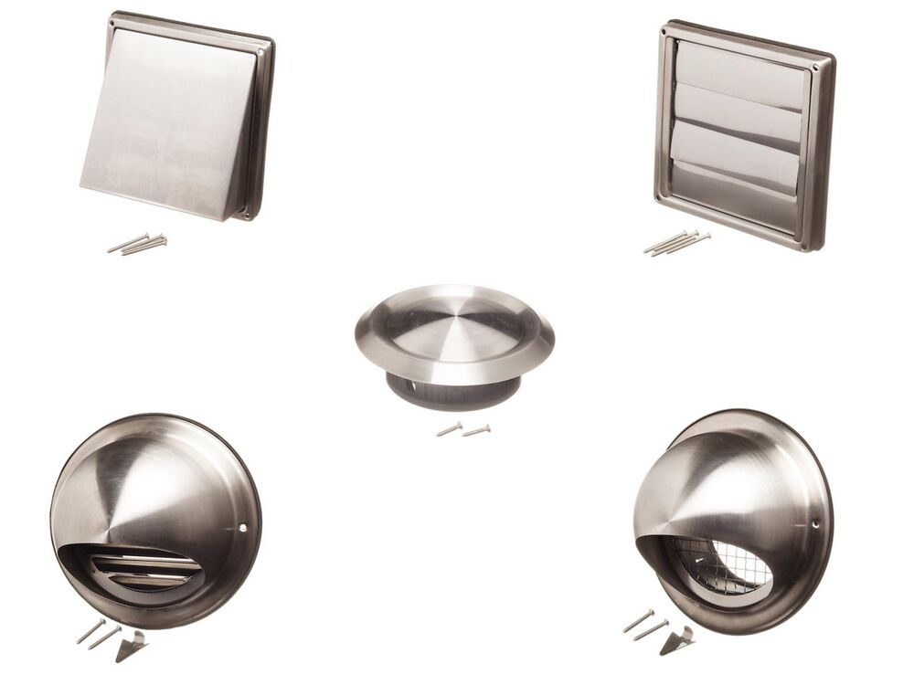 Stainless Steel Ventilation Vent Outlet Exhaust Grilles