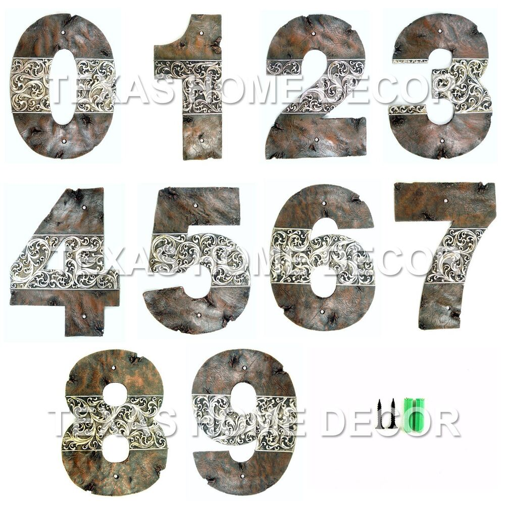 Decorative House Numbers eBay - ^