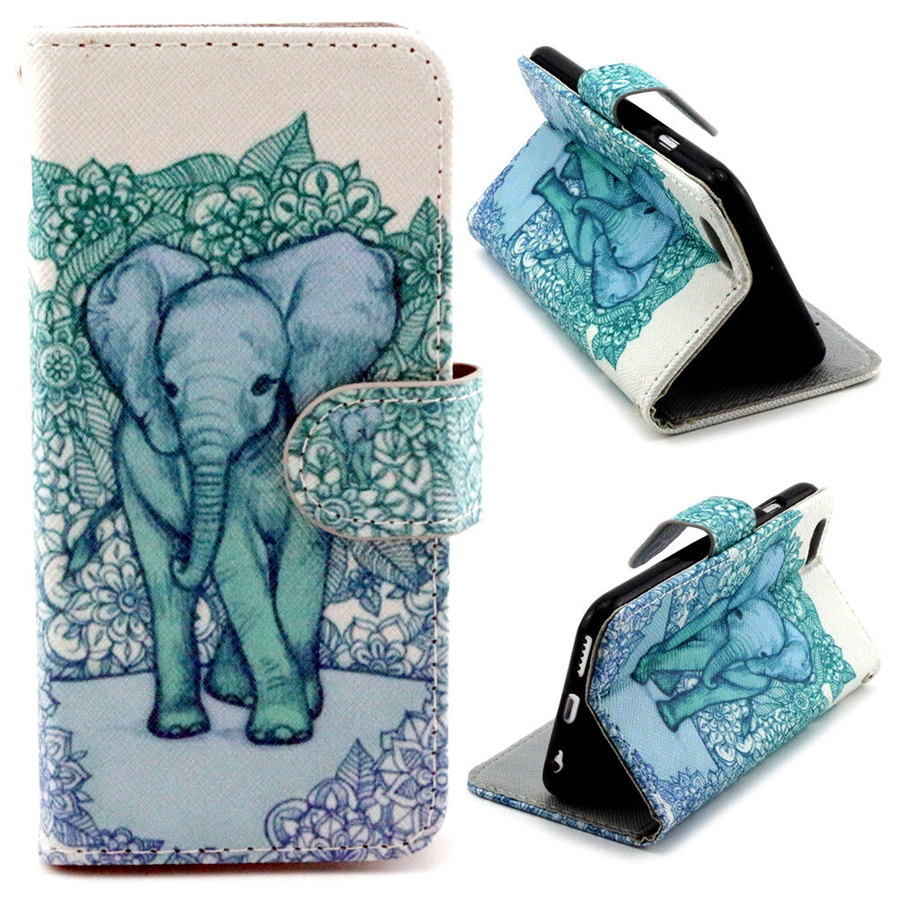 Wallet With Elephant Design
