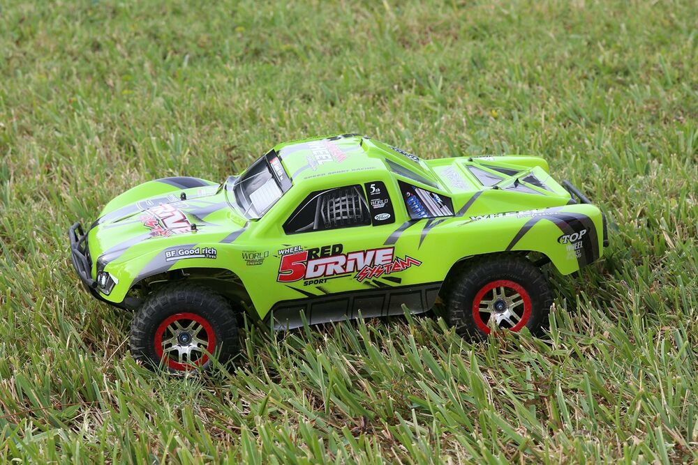 Traxxas Truck Car Body Green 1/10 Slash 4x4 VXL 2WD Slayer