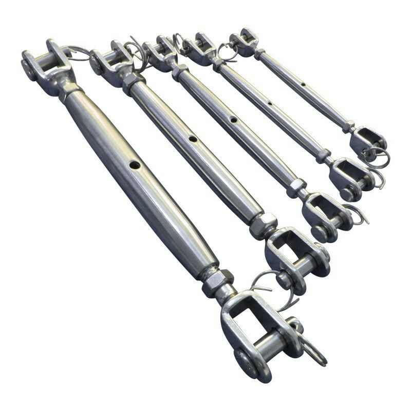 Turnbuckle stainless steel a marine grade sailing