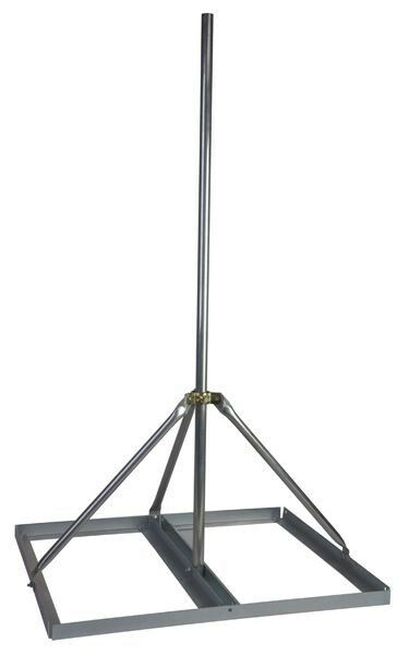 Non Penetrating Antenna Mast Roof Mount With 2 Quot X 60 Quot Mast